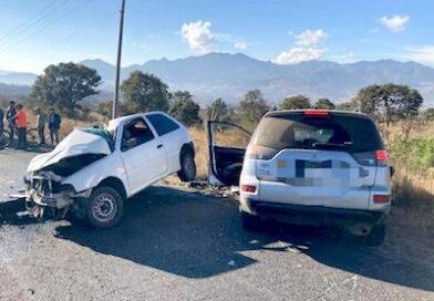 Un muerto y tres heridos saldo de choque en Ciudad Hidalgo
