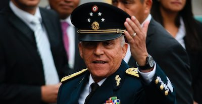 FGR determina no ejercicio de la acción penal en favor del General Cienfuegos