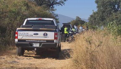 Hallan cadáver encobijado en fraccionamiento de Pátzcuaro
