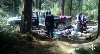 Un militar herido en enfrentamiento en Los Azufres; armas y camionetas aseguradas