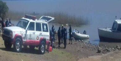 Hallan muerto a hombre, que accidentalmente cayó al Lago de Pátzcuaro
