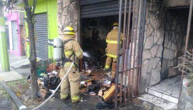 Se incendia vivienda, en Morelia