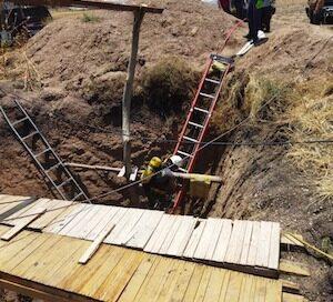 Dos hombres murieron tras caer a un pozo, en Puruándiro