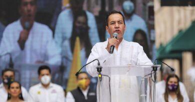 Somos el proyecto de la paz y del desarrollo para Michoacán, dice Carlos Herrera