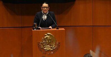 Rosa Icela dice que sí funciona estrategia vs. el crimen; reconoce retos por homicidios dolosos y feminicidios