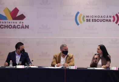 Michoacán, con bases firmes para alcanzar la paz, dice Silvano